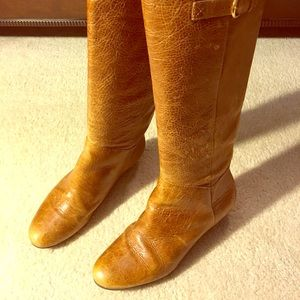 Aldo Tan Lather Tall Boots size 8.5